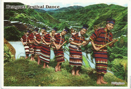 Benguet Festival Dance Of The Philippines,stamped With Miss Universe ,postcard Addressed To ANDORRA, With Arrival Stamp - Océanie