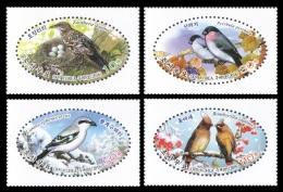 North Korea 2016 Mih. 6289/92 Fauna. Birds MNH ** - Korea, North