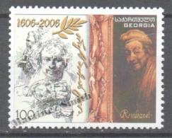 Georgie - Georgia 2007 Yvert 435, Art. Personality. Rembrandt - MNH - Georgia