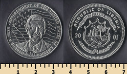 Liberia 10 Dollars 2001 - Liberia