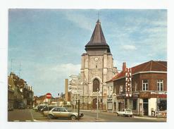 59 Nord - Marcq En Baroeul Place Du Général De Gaulle église St Vincent , Haacht Loto Café - Marcq En Baroeul