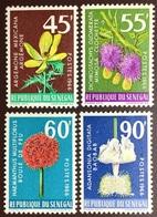 Senegal 1966 Flowers MH - Végétaux