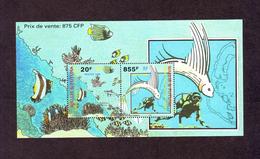 WALLIS & FUTUNA 1999  -  BF 8  -  Fonds Marins Du Lagon. - Neuf ** - Blocks & Sheetlets
