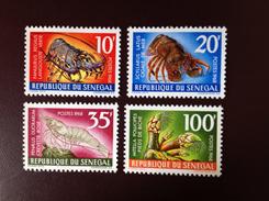 Senegal 1968 Marine Crustacea MNH