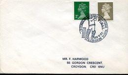 21664 England, Special Postmark 1981 London  Cricket