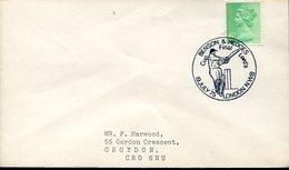 21665 England, Special Postmark 1975 London  Cricket