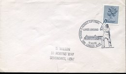 21667 England, Special Postmark 1986 London  Cricket