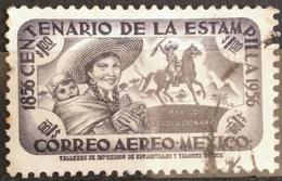 MÉXICO 1956 I Centenario Del Sello De México. Aéreo. USADO - USED - México