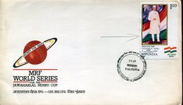 21669 India, 1989 Cricket   (some Damage !!!)