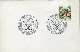 21672 Italia, Special Postmark 1984 Novara Roller Hockey, Rink Hockey