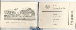 Programme 16 Pages, Spectacle Stadt-Casino Basel Avec Roger Nordmann Et Colette Jean + Publicités (1955) Format 11x15 - Programmes