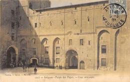 CPA 84  AVIGNON PALAIS DES PAPES COUR INTERIEURE - Avignon