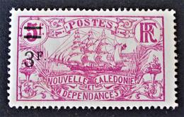 SURCHARGE 1924 - NEUF * - YT 136 - Nouvelle-Calédonie