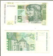 Croazia: 5 Kuna 2001 - Croatie