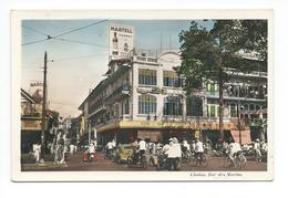 Indochine Vietnam Cochinchine Saïgon Cholon Rue Des Marins CP Un Peu Vrillée Bien Ecrite Colonies Françaises - Vietnam