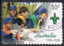 Australia SG2920 2008 Scouts 50c Good/fine Used [9/11332/6D]