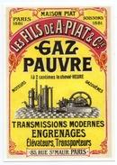 CPM - CENTENAIRE EDITIONS - MATERIEL AGRICOLE - 58 - LES FILS DE A.PIAT & Cie - SOISSONS Et PARIS 1881 - Soissons