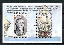 Kiribati 2005 MNH Battle Of Trafalgar 200th 2v M/S Boats Ships Gravina Stamps - Militaria