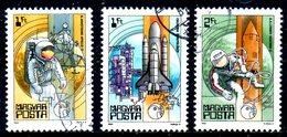HONGRIE. N°2814-6 Oblitérés De 1982. Navigation Spatiale/Navette.