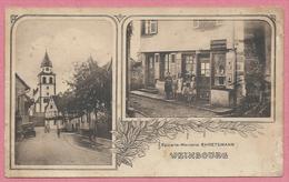67 - WEINBOURG - Epicerie - Mercerie - EHRETSMANN - Eglise - Francia