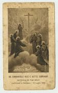 """Beati Emanuele Ruiz E Compagni Detti """"Beati Martiri Di Damasco"""" - Imprimatur 1926 S.Lega Eucaristica - Devotion Images"""