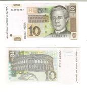 Croazia: 10 Kuna 2001 (qFDS) - Croatia