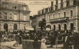 47 - VILLENEUVE-SUR-LOT - Marché - Villeneuve Sur Lot
