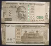 India - 500 Rupees 2016 UNC Lemberg-Zp - India