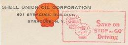 Meter Cut USA 1939 Shell - Oil
