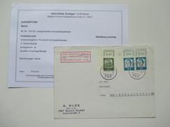 Berlin 1961 Bedeutende Deutsche Nr. 203 Mit Druckerzeichen. MiF. Geprüft Schlegel BPP / Fotobefund - Berlin (West)