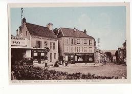 Orsay - Place De La République Et Rue Archangé - Garage Citroën, Pompe à Essence - Orsay