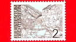 Nuovo - MNH - LIECHTENSTEIN - 1973 - Paesaggi - Landscapes - Gole Di Samina - Saminaschlucht - 2