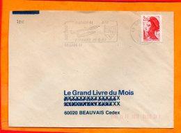 LOIRET, Orleans, Flamme SCOTEM N° 7835, Meeting Aerien BA123 25-5-86 - Oblitérations Mécaniques (flammes)