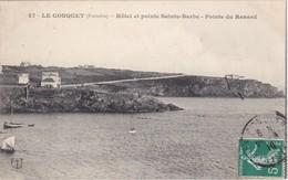 LE CONQUET - Hôtel Et Pointe Sainte-Barbe - Pointe Du Renard - Maisons - Le Conquet