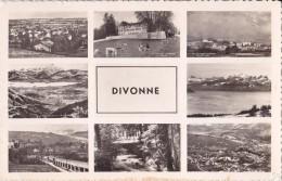DIVONNE CARTE MULTI VUES - Divonne Les Bains