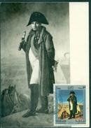 SHARJAH CARTE MAXIMUM NAPOLEON 1971 RARE TB - Napoleone