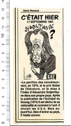 Humour Alexandre Soljenitsyne Portrait 198PF27 - Old Paper