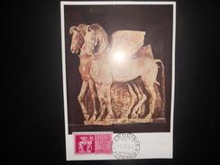 Italie , Cm , Carte De Tarquinia 1958 - Maximum Cards