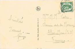 24286. Postal BLANKENBERGHE (Belgien) 1933. La Digue - Belgique