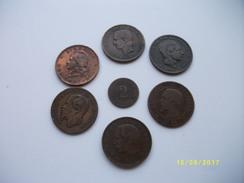 Lot De 7 Pièces De Monnaie Différents Pays - Kilowaar - Munten