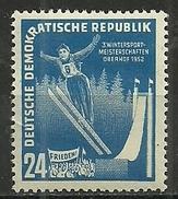 DDR 1952, Nr. 299, Postfrisch - [6] Democratic Republic