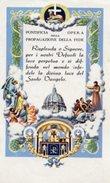 Roma - Santino Antico PONTIFICIA OPERA DELLA PROPAGAZIONE DELLA FEDE (Per I Tuoi Cari Morti) - OTTIMO N48 - Religión & Esoterismo