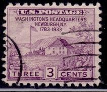 United States, USA, 1933, Washington's Headquarters, Scott# 727, Used - Usati
