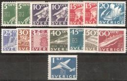 Suécia, 1936, MNH - Zweden