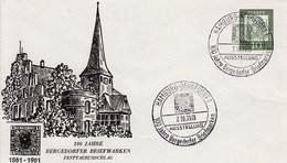 PU 17/1a  100 Jahre Bergedorfer Briefmarken 1861-1961, Hamburg-Bergedorf 1 - Privatumschläge - Gebraucht