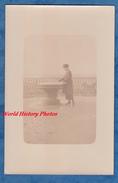 CPA Photo - AVRANCHES - Femme Devant Une Table D'orientation ? - 1919 - Avranches