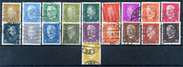 1928-32 WEIMAR SERIE COMPLETA USATA - Used Stamps