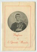S.Gerardo Maiella - Libriccino Del Santuario Di Materdomini (Caposele-Avellino) - Santini