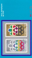 Canada 1976 Leaphlet 1976 Montreal Olympic Stamps (T15-25)