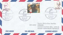 Canada 1976 Cover Montreal Olympic Games - Toronto Football (T15-25)